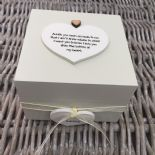 Shabby Personalised Chic Auntie Aunty Great Aunt Gift Trinket Box Jewellery Box - 253191089088
